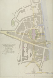 [Plan for the improvement of the approaches on the south side of New London Bridge] part A0